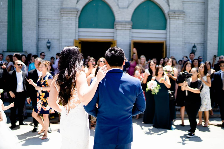 catholic church wedding downey