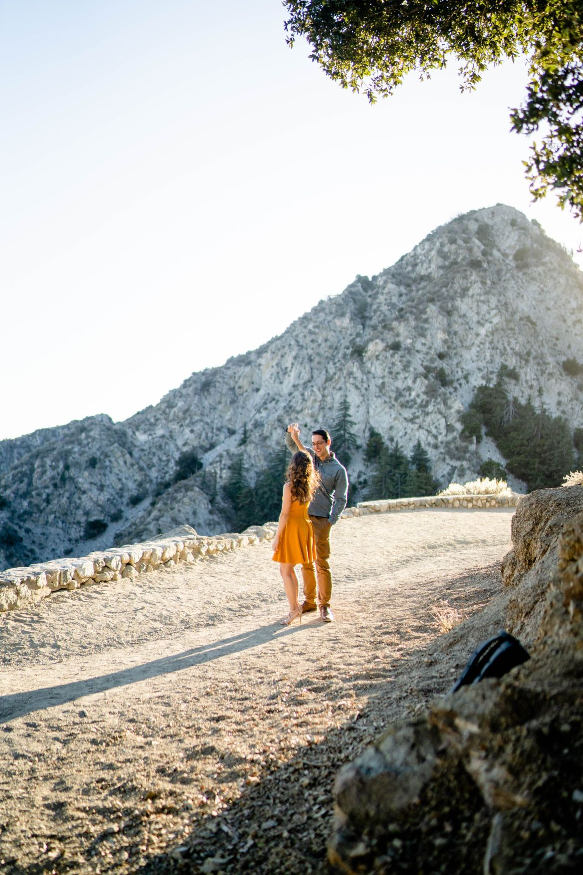 Dreamy Mountain Engagement