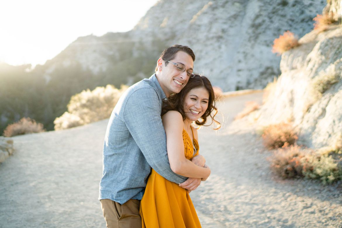Los Angeles Forest Engagement Photographer
