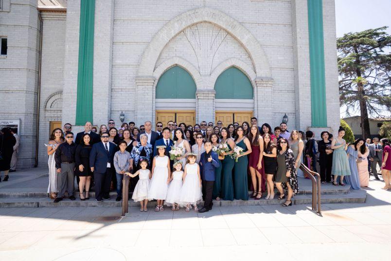 group photo catholic church