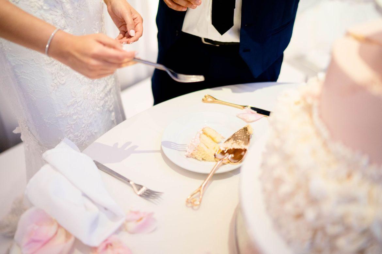 huntington beach wedding cake