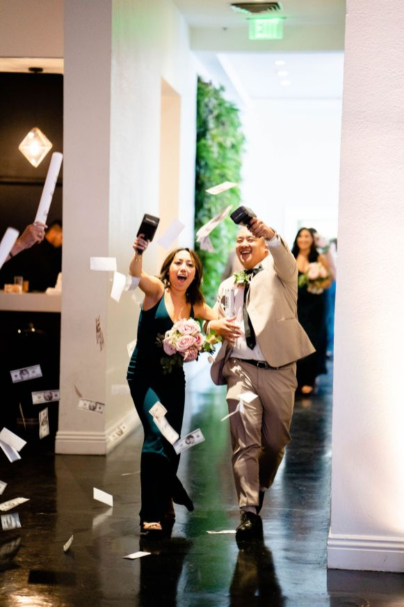 wedding party entrance ideas