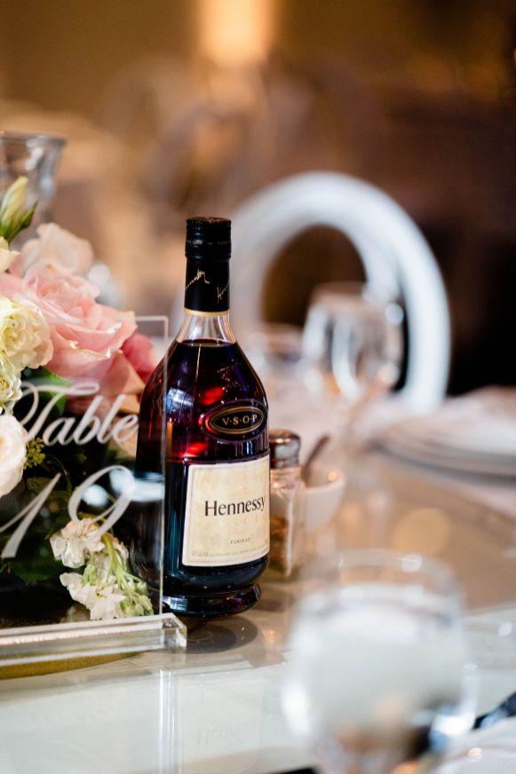 wedding venue decore whiskey