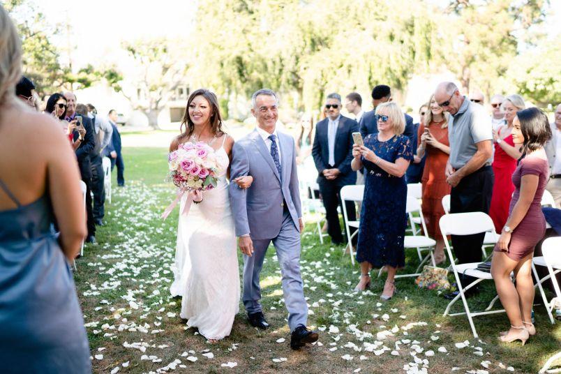 wedding el segundo beach