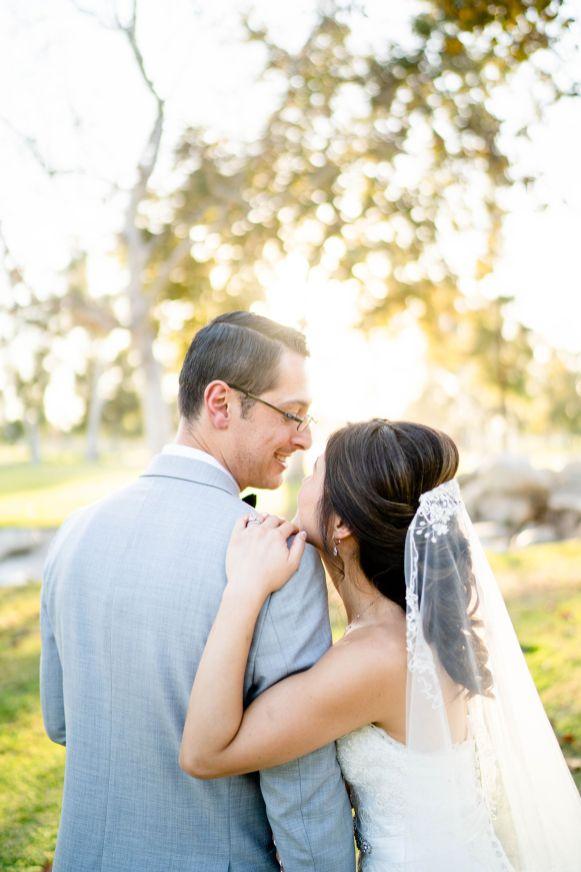 LA wedding photographer park mile square park
