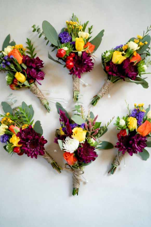 OC florist wedding