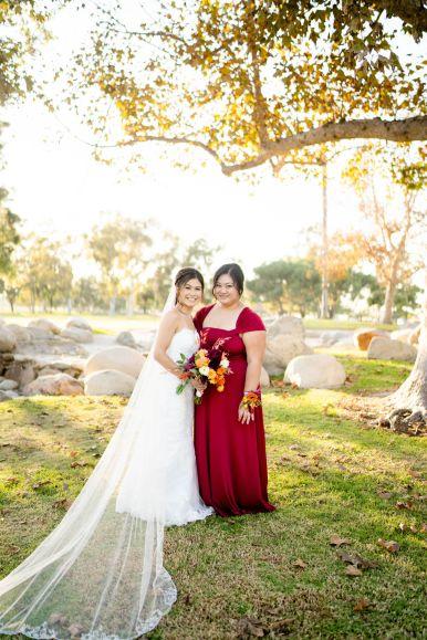 brides maid dresses oc
