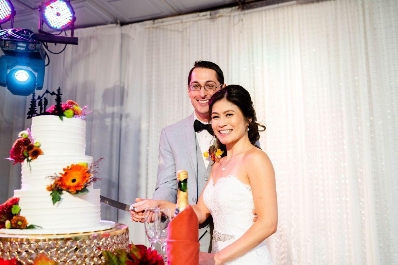 cake cutting oc wedding