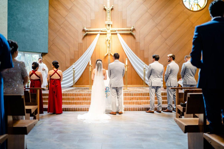 catholic church wedding orange county