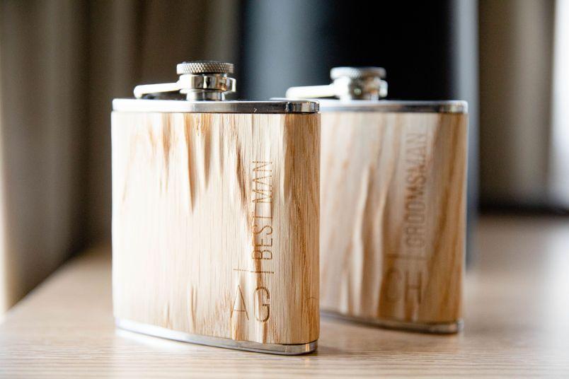 customized flask wedding gift