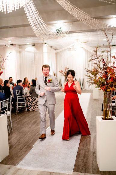 grand entrance wedding paracel restaurant