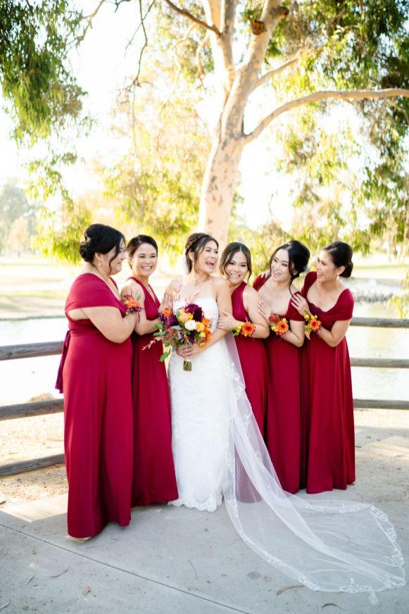 mile square park wedding oc photographer
