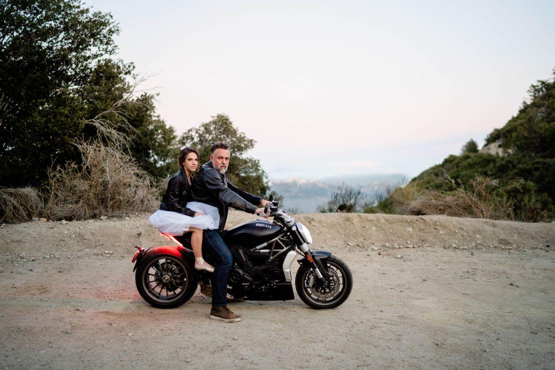 motorcycle wedding ducati