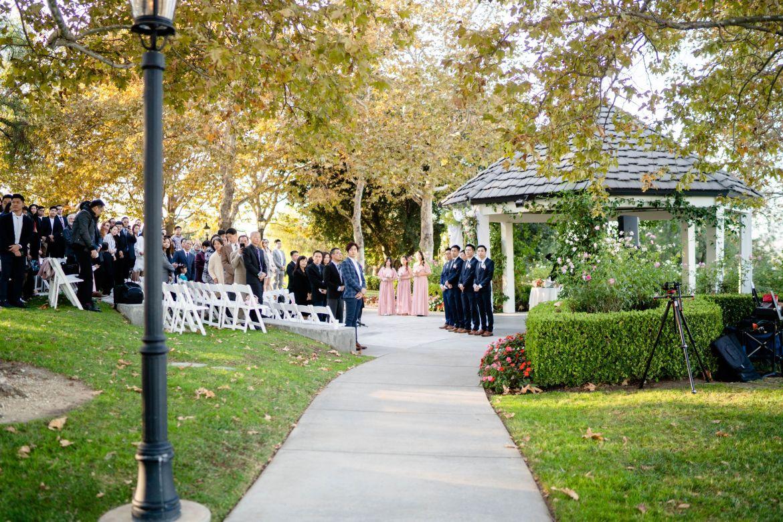 socal wedding outdoor summit house wedding