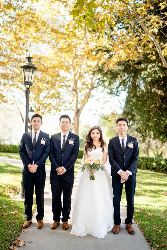 summit house wedding groomsmen