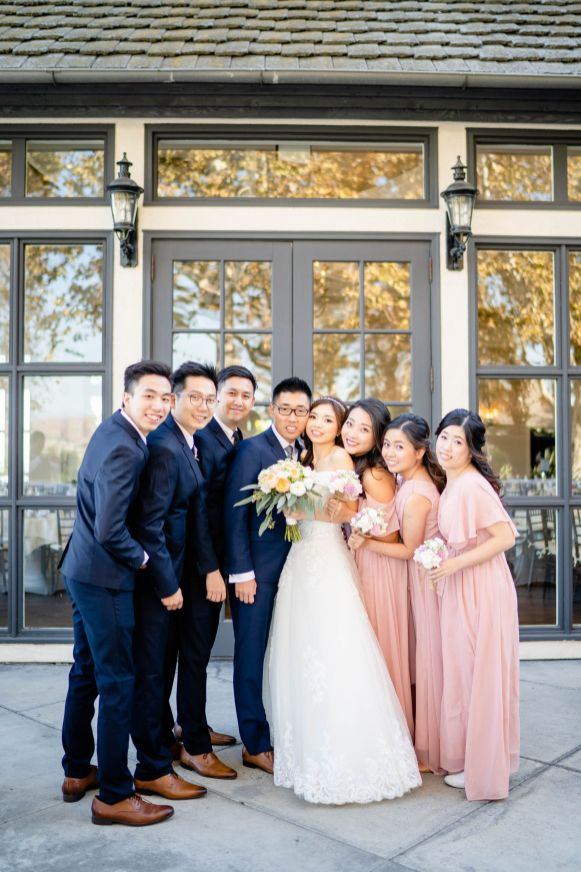 summit house wedding photo