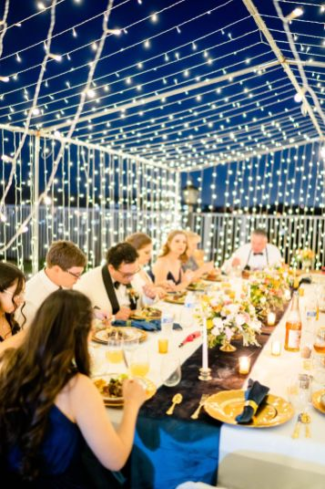 DIY wedding reception backyard ideas