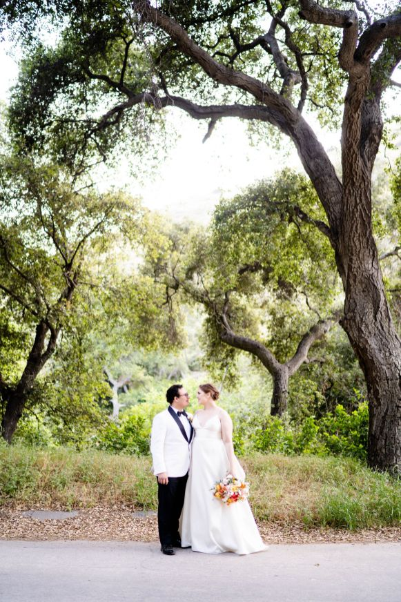 backyard wedding forest wedding