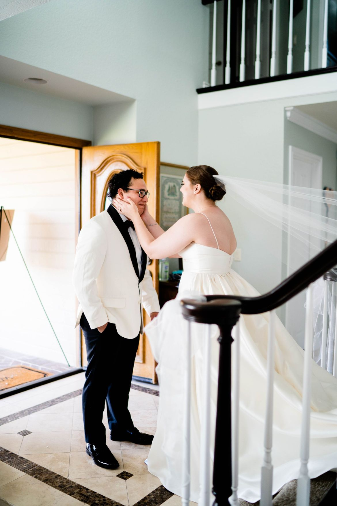 first look wedding photos pasadena wedding photographer