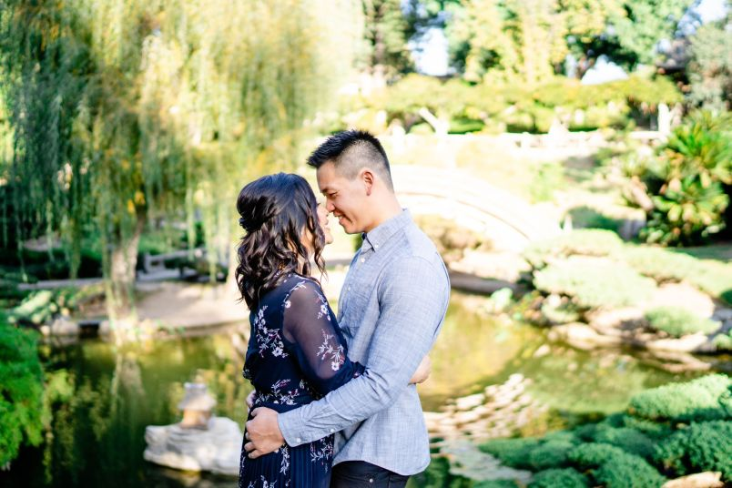 huntington library wedding photography