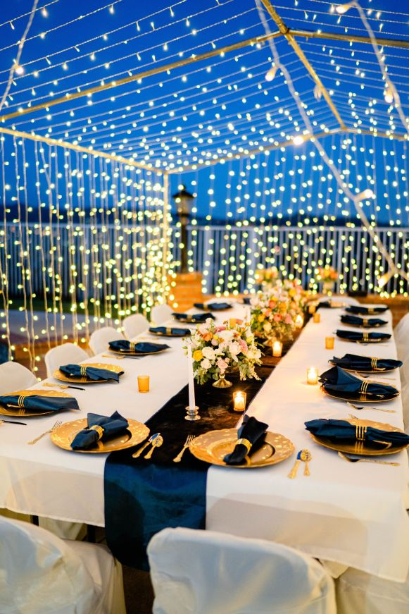 ideas for backyard wedding