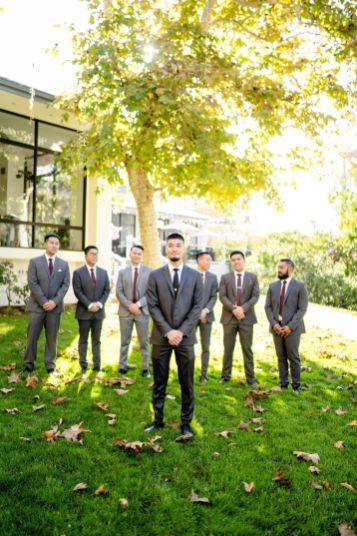 UCI groomsmen