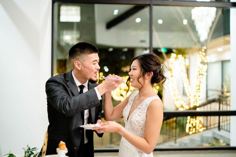 first bite wedding cake uci