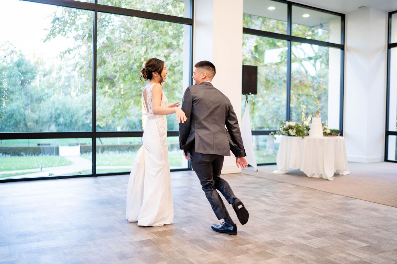 wedding first dance fun
