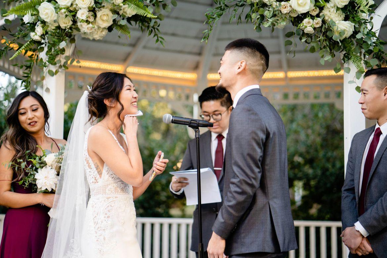 wedding speech crying photo