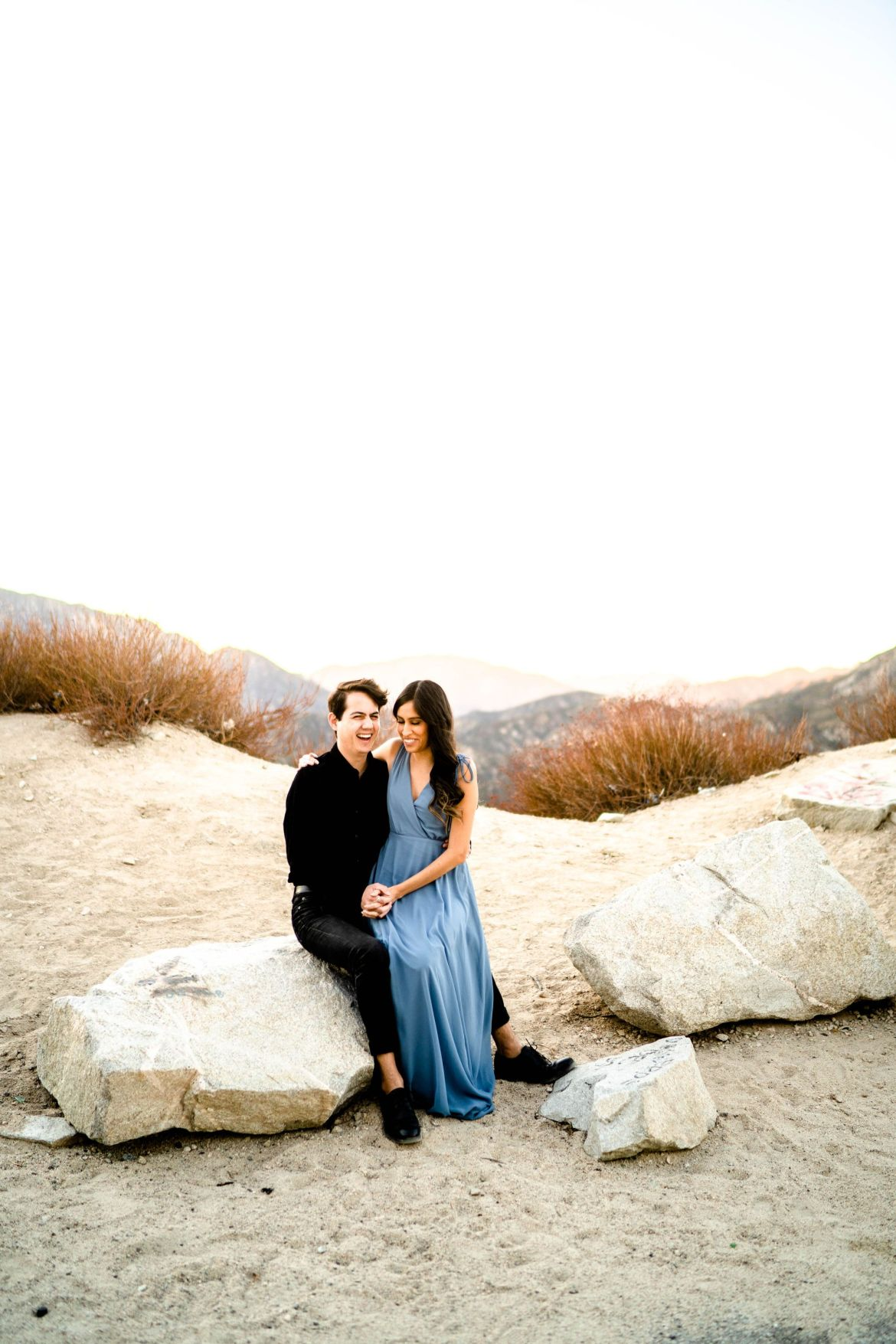 Mountain Engagement Angeles Crest