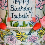 Close up Isabelle cake