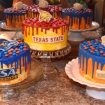 Jacob, Ali and Shay's senior cakes