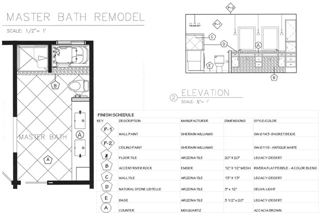 An Aging-in-Place Bathroom • A Kinder Space