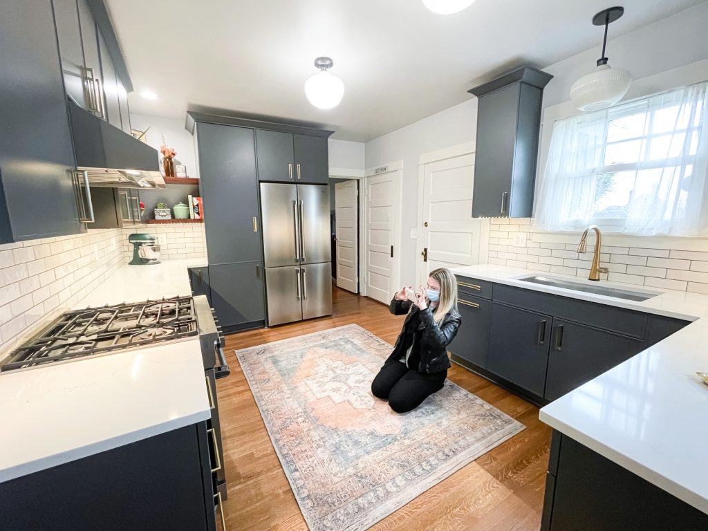 Edit16 scaled - Modern BOHO Kitchen Makeover Tacoma    Coggins Residence