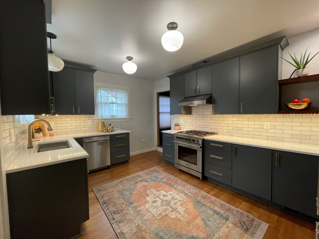 Edit18 scaled - Modern BOHO Kitchen Makeover Tacoma    Coggins Residence