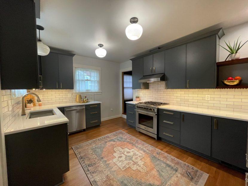 Edit18 scaled - Modern BOHO Kitchen Makeover Tacoma || Coggins Residence