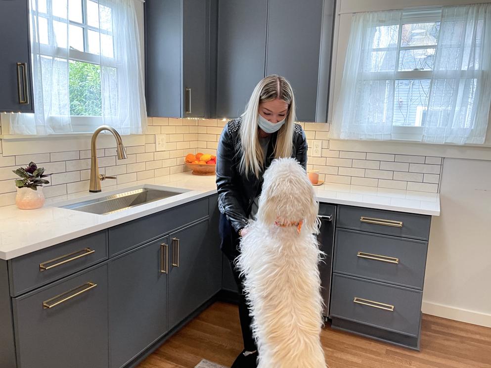 Edit3 - Modern BOHO Kitchen Makeover Tacoma    Coggins Residence