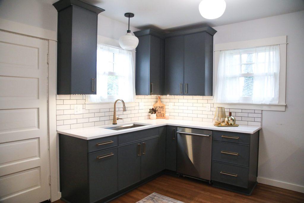 Edit9 scaled - Modern BOHO Kitchen Makeover Tacoma    Coggins Residence