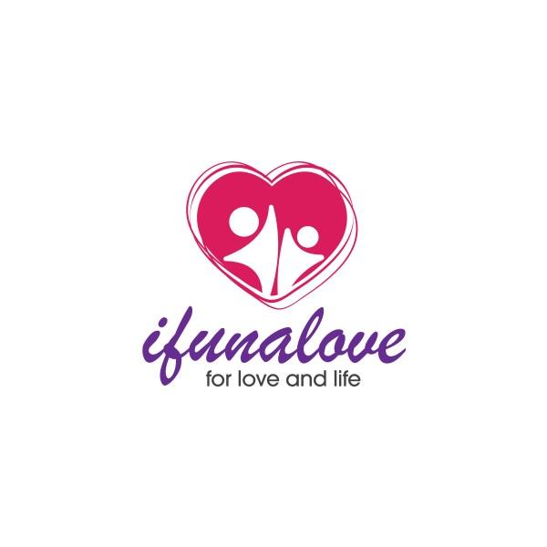 ifunalove logo design by akinmagneto