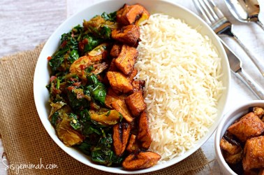 Rice , Dodo and Spinach
