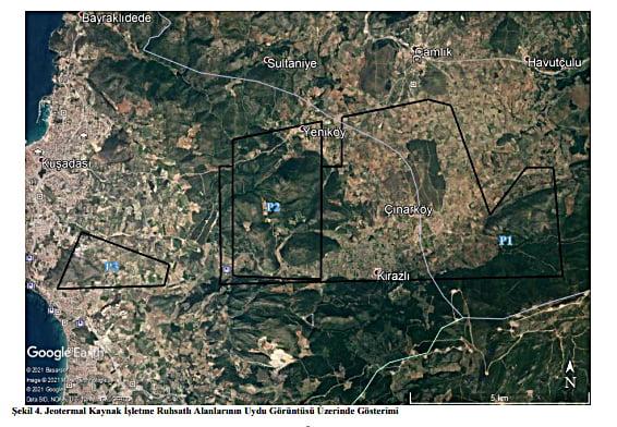 İzmir Selçuk'ta yapılması planlanan jeotermal kaynağın çıkartılması ve kullanılması projesi ile ilgili olarak 06.07.2021 günü halkın katılımı toplantısı düzenlenecek