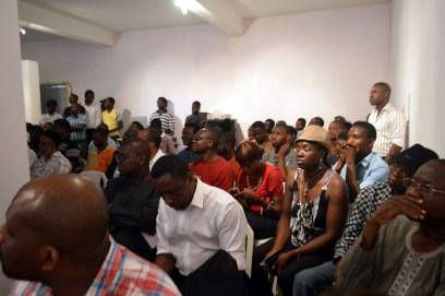 Cross-section of attendees
