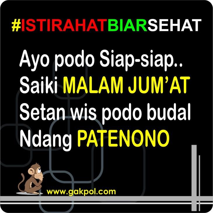 Status Lucu Malam Minggu Bahasa Jawa Katapos