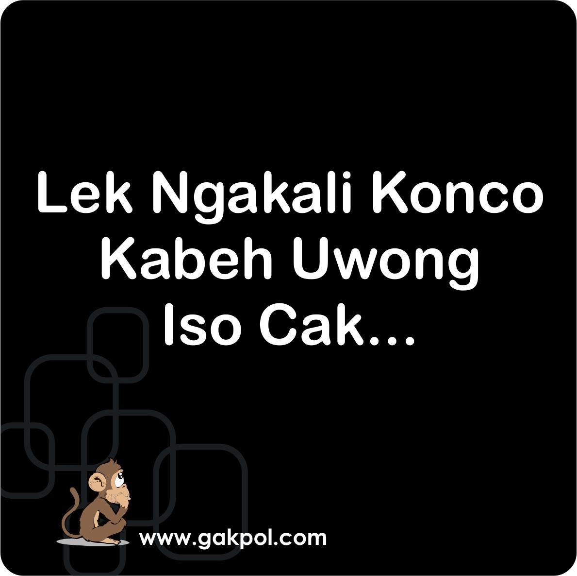 20 gambar kata mutiara lucu bahasa jawa  Ktawacom Ayo