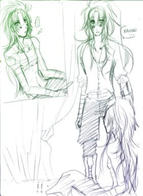 Encuentro Saga y Kanon por Yebin