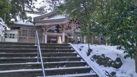 太平山三吉神社 初詣
