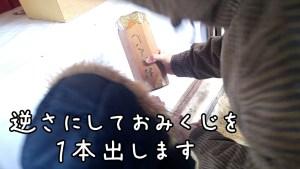 太平山三吉神社 初詣 おみくじ