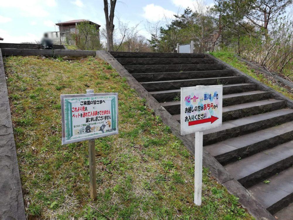 秋田県立中央公園 駐車場