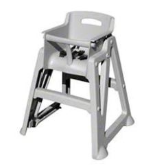 Restaurant High Chair With Tray Fabric Outdoor Chairs Stackable Optional