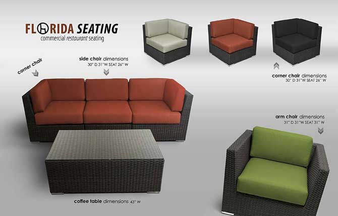 Restaurant Sofa Seating Sofa Seating Along The Side Of